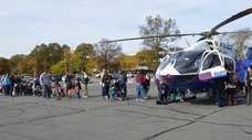 A Suffolk police helicopter will be among the