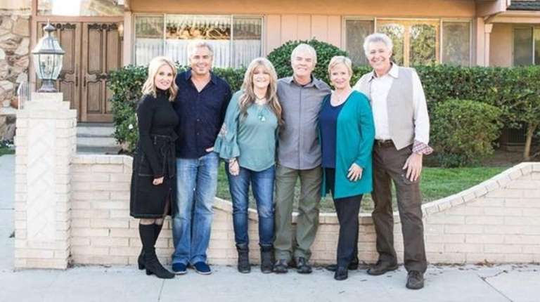 "Former ""Brady Bunch"" cast members reunite at their"