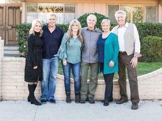 "Former ""Brady Bunch"" cast members reunite at their"