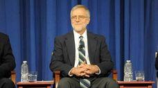 Howie Hawkins speaks during a gubernatorial debate at