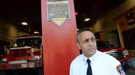 FDNY Battalion Chief Joseph Downey, of Deer Park,
