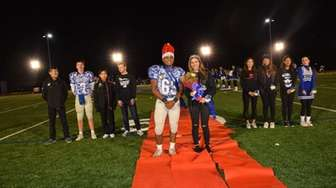Ian Gopie and Carly Adessa were crowned homecoming