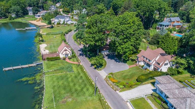 This Huntington Bay property is listed for $1.95