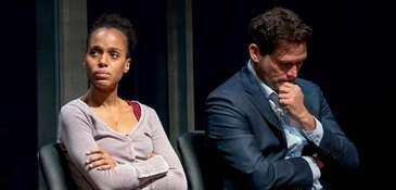 Kerry Washington and Steven Pasquale star as a