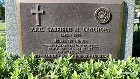 Pfc. Garfield M. Langhorn was 20 when he