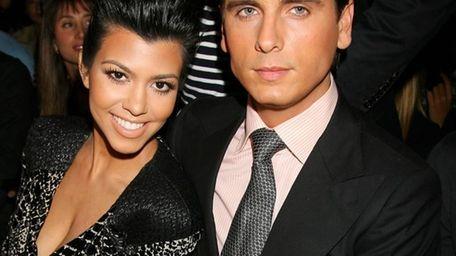 Reality TV stars Kourtney Kardashian and her longtime