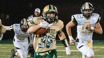 Longwood High School's boys Football player Zach Soriano