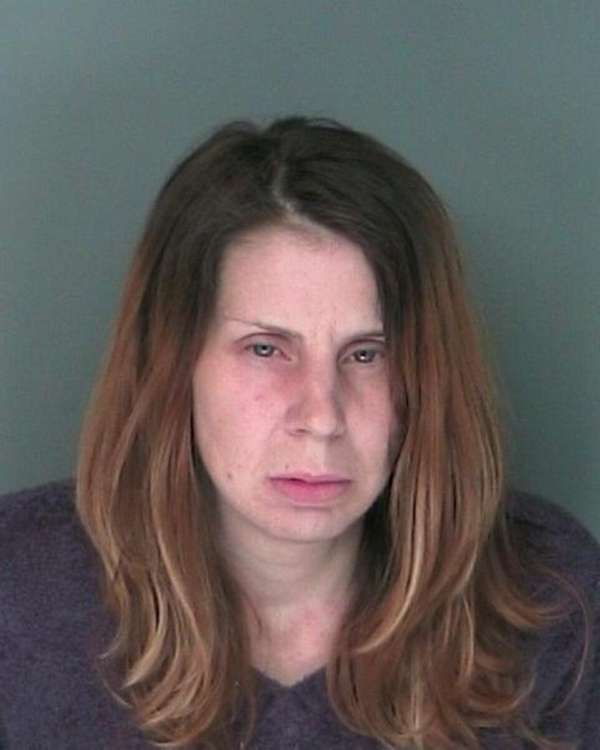 Karen Edelmann, 43, of Shirley was arrested Monday
