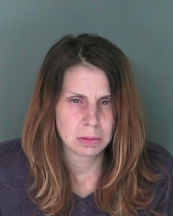 Karen Edelmann, 43, of Shirley was arrested Monday