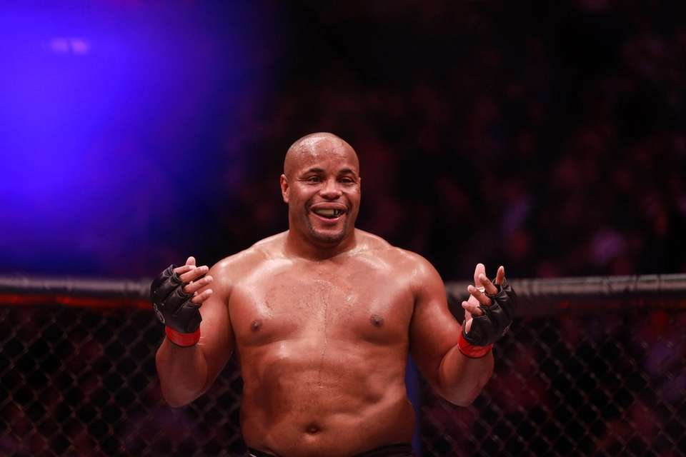 UFC Heavyweight champion Daniel Cormier defended his title