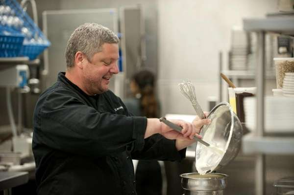 Keith Luce, the chef-proprietor of Luce & Hawkins