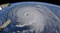 Hurricane Florence, seen from the International Space Station,