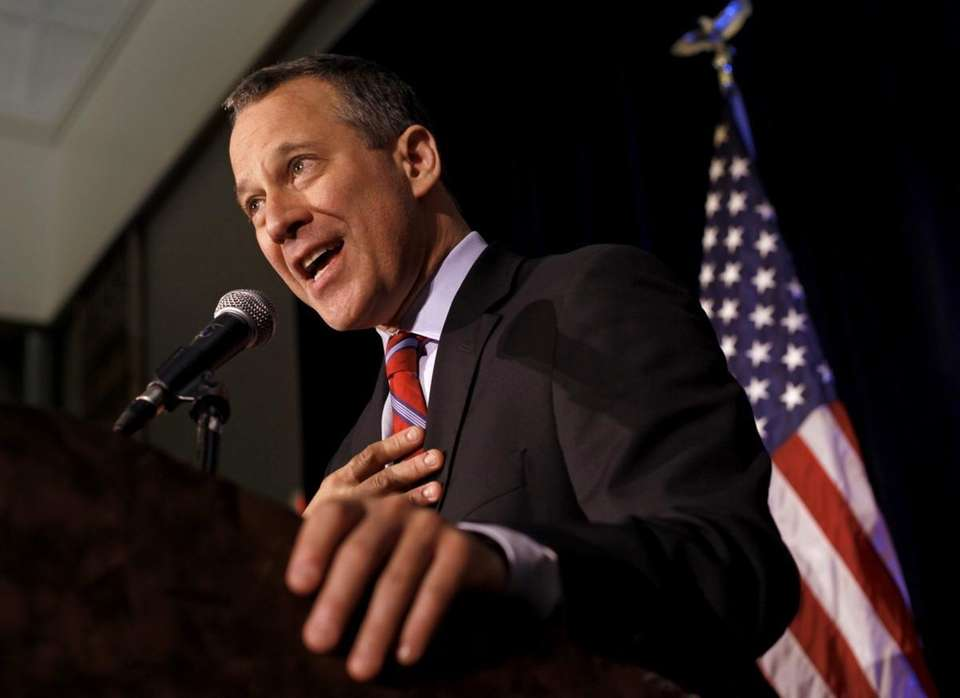 Democratic New York Attorney General candididate Eric Schneiderman
