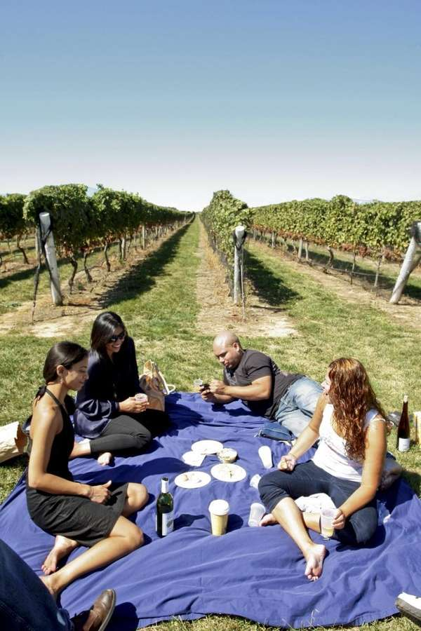 Pindar Vineyards in Peconic encourages guests to bring