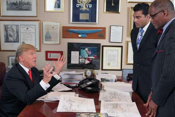 THE APPRENTICE -- Episode 1001 -- Pictured: Donald