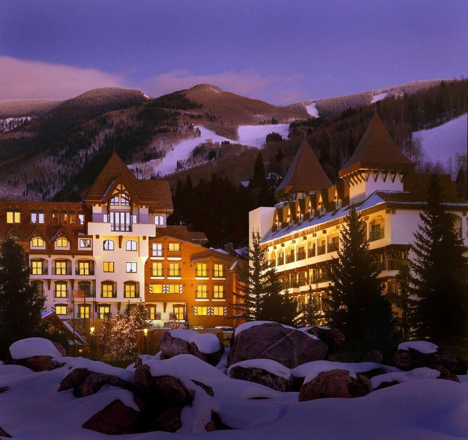 The Vail Marriott Mountain Resort is situated in