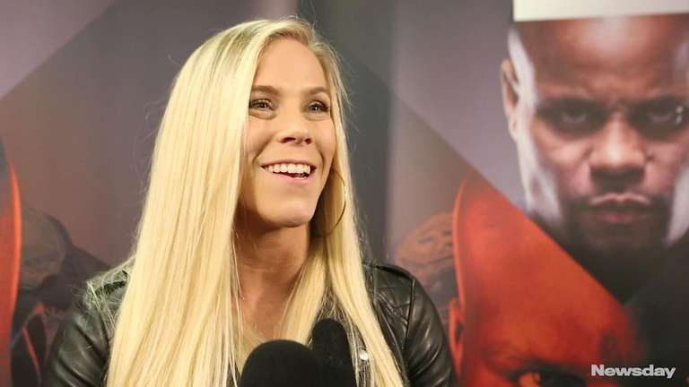Katlyn Chookagian, who does some of her training