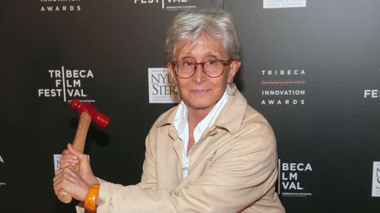 Choreographer Twyla Tharp attends the Tribeca Disruptive Innovation