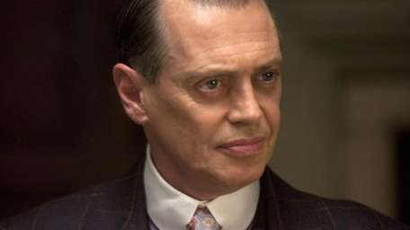 Steve Buscemi performs a scene in