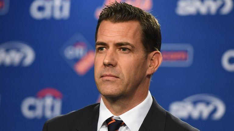 Mets new general manager Brodie Van Wagenen looks