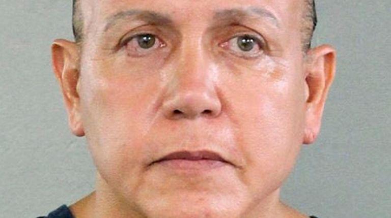 Pipe bomb suspect Cesar Sayoc in 2015.