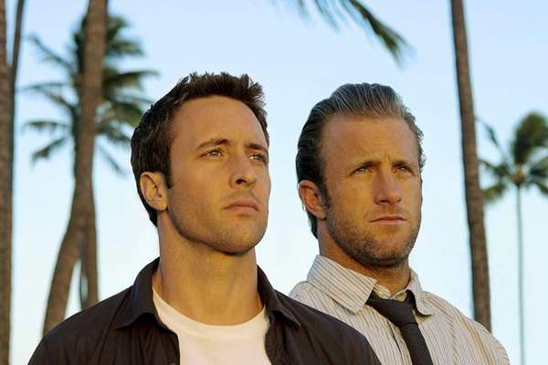 Alex O'Loughlin, left, and Scott Caan star in