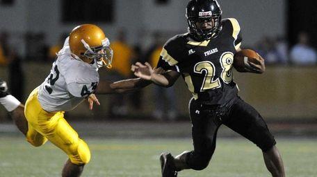 St. Anthony's High School running back #28 Maston