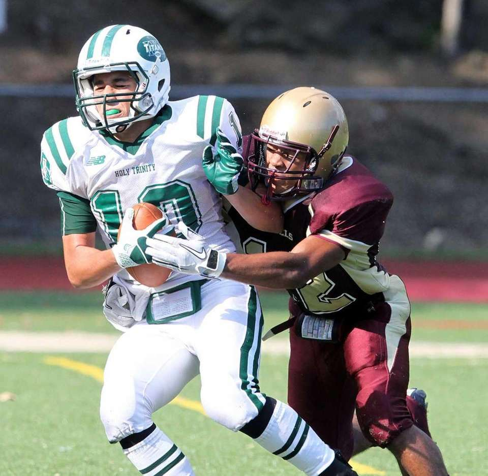 Holy Trinity's Nicolas Ferreiro with late catch against