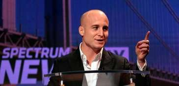 Democrat Max Rose at the College of Staten