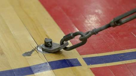 The bar floor plate in the Connetquot High