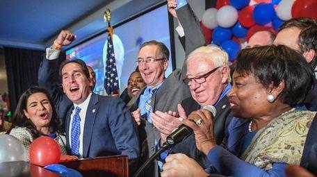 Members of the new New York State Senate