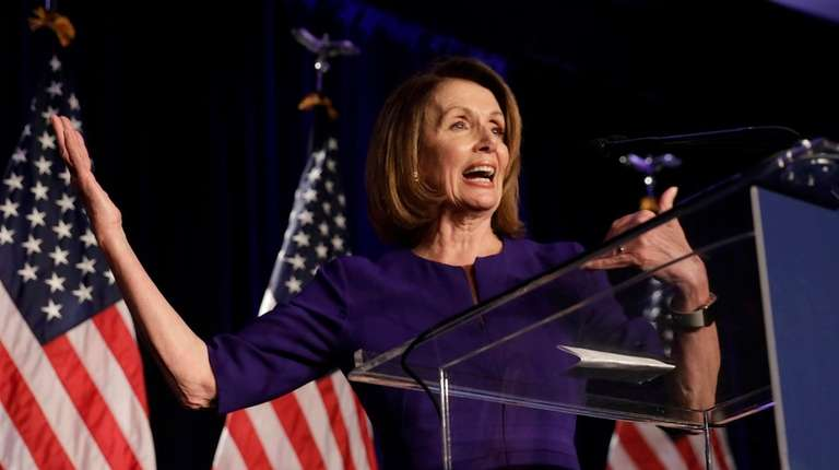 House Minority Leader Nancy Pelosi, a Democrat from
