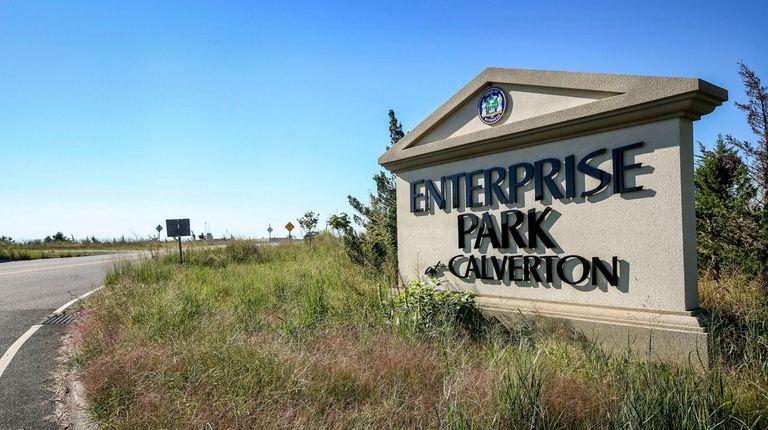 The Enterprise Park at Calverton is the largest