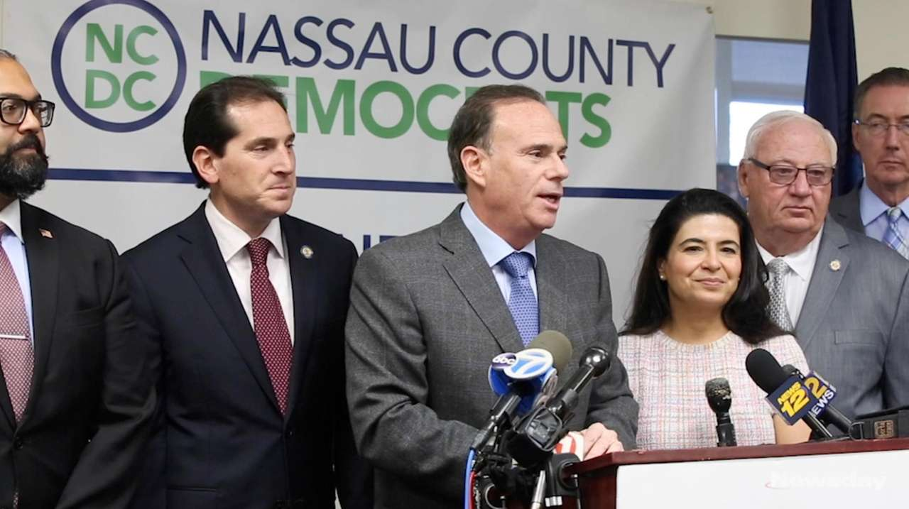 On Wednesday, Nassau County Democratic Chairman Jay Jacobs