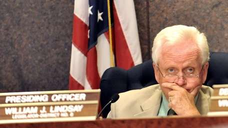Suffolk County Legislature Presiding Officer William J. Lindsay