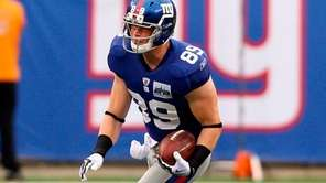 Giants tight end Kevin Boss will work out