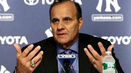 Former New York Yankees manager Joe Torre speaks