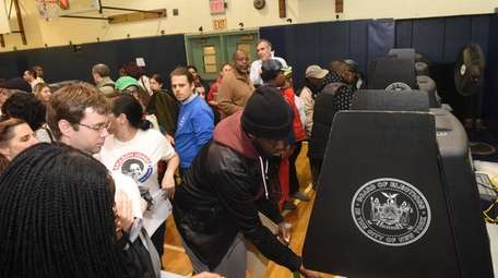 Issues with scanners were common at poll sites
