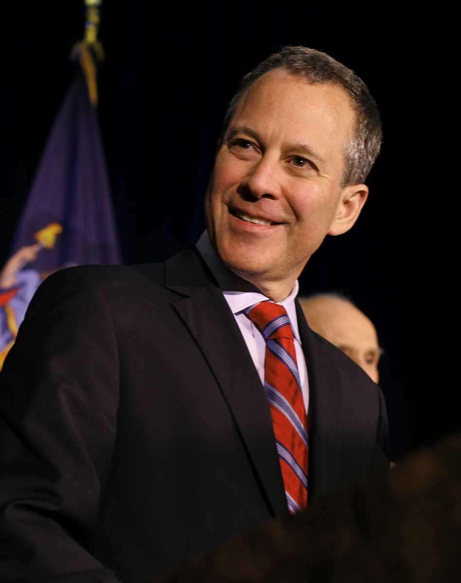 Democratic New York Attorney General candidate Eric Schneiderman