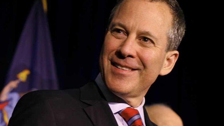 Democratic New York Attorney General candidate Eric Schneiderman