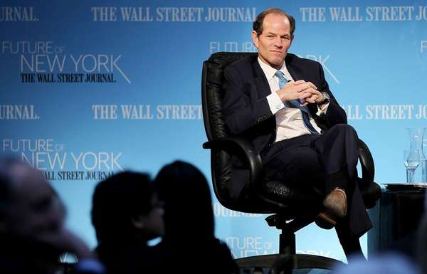 Former New York Gov. Eliot Spitzer attends a