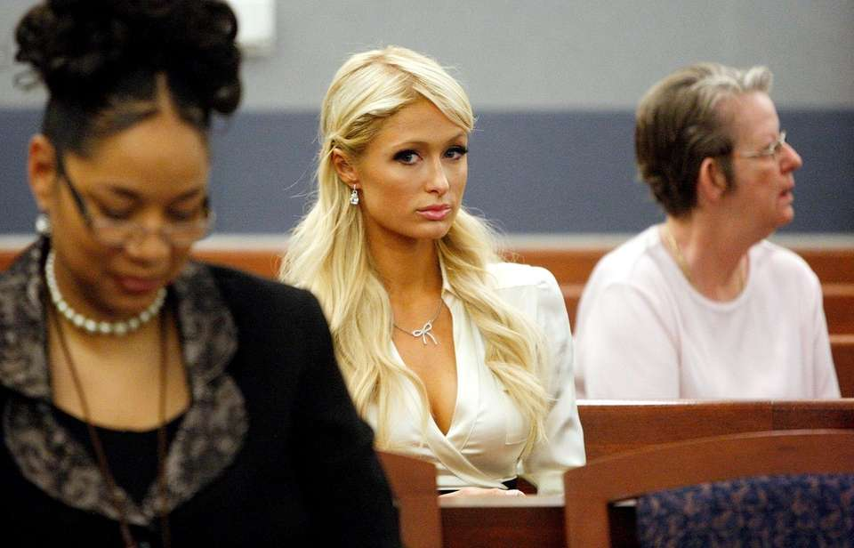 Paris Hilton appears in court on Sept. 20,
