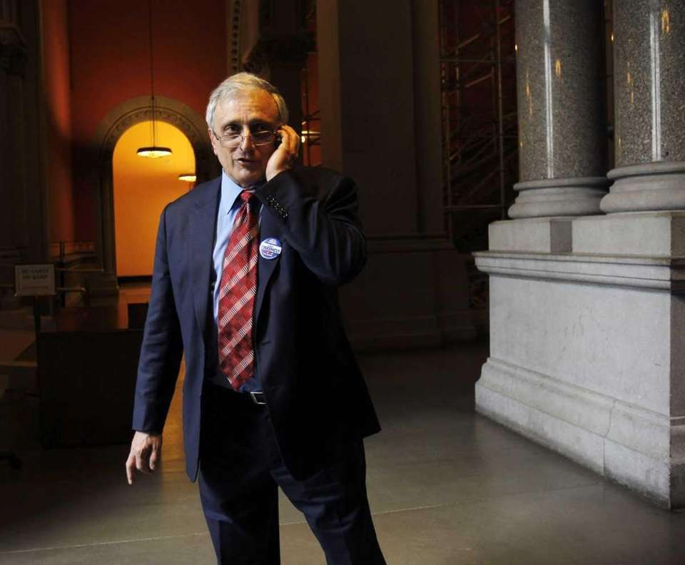 Republican candidate for New York governor Carl Paladino