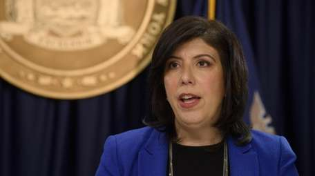 Nassau County District Attorney Madeline Singas at an
