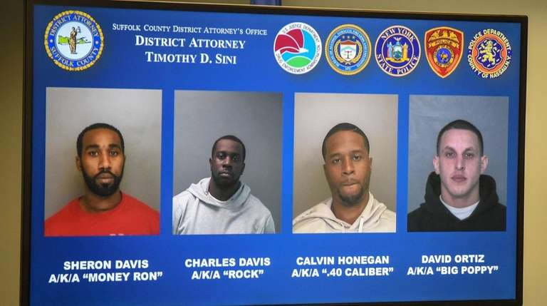 Some of the persons who were charged