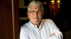 Mike Francesa is shown is his home in