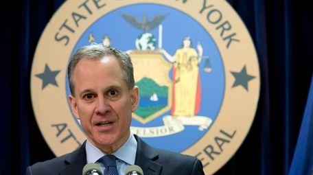 New York Attorney General Eric T. Schneiderman is