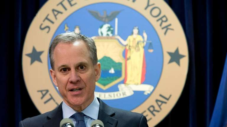 New York Attorney General Eric T. Schneiderman is