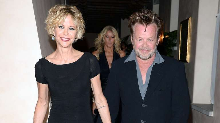 Meg Ryan and John Mellencamp, who rekindled their