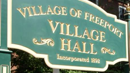 Freeport Village Hall on Aug. 11, 2010.